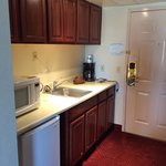 Kitchenette in our standard room