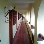 walkway to your room
