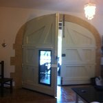 beautiful doors to our suite