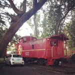 Our Wild Wild West Caboose