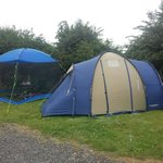Our tent and gazebo!