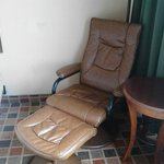 A wierd but comfy chair!  I wanted to take it home.