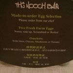 Nooch Bar made to order egg selection