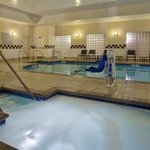 Unwind with a dip in our pool or relax in our whirlpool