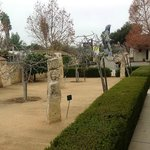 Front Courtyard Sculpture Garden.