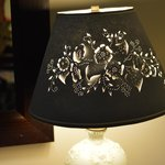 Sweet lamp at bedside
