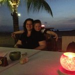 Amazing dinner at sunset by the beach, PERFECT!