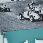 Classic Zandvoort racing above the beds