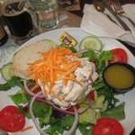 Delicious Chicken Salad, and served very good portions.