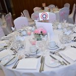 One of the wedding guests tables