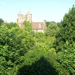 View from window of Sissinghurst room