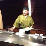 Teppanyaki - nice performance by the chef