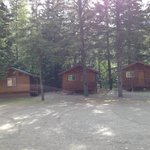 Three more cabins