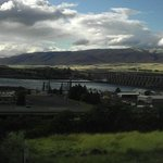 View of the Gorge & The Dalles Dam