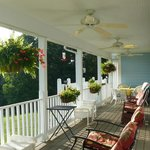 Brierly B&B relaxing porch