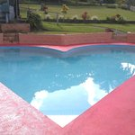 Heart shaped pool