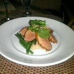 Highly recommend the maple glazed duck breast.