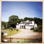 The Strontian Hotel in sunshine