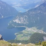 View from the Dachstein Mountain