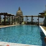 Rooftop Pool with view of Capitol dome