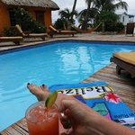 the best pool on the island and the rum punch was delish!