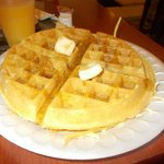 This is the best hotel waffle I have ever made!