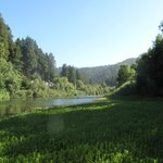 View of the Russian River from the property