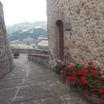 One of the amazing views from Montone
