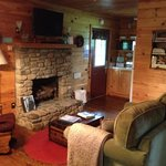 Inside of our cabin