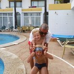 Fernando. Lovely life guard. Great with kids and adults true gentleman.