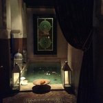 This is your welcoming sight as you enter Riad Zamzam-absolutely beautiful