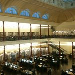 Redmond Barry reading room from above