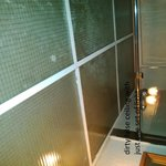 inadequate light and baf false ceiling in bathroom