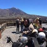 At the top! Tiede in back ground.