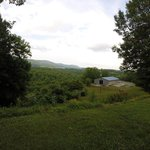 View of Fancy Gap from the front porch of the B&B.