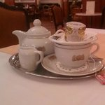 Teatime at the Palace Hotel