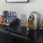 Coffee available in suites