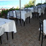 the restaurant with wiev to the sea