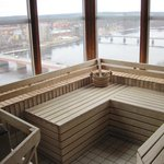 Sauna on top floor