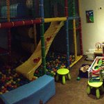 The playroom. Not big, but good enough for hours and hours