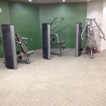 Variation in machines in hotel gym