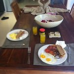 Breakfast in C2 Villa