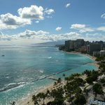 View of Waikiki from Room 2521
