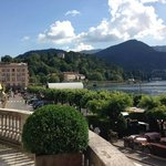 Lake Como from terrace