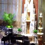 Piano in the lobby bar