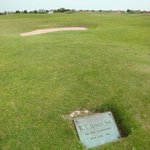 Location of Bobby Jones shot on 17th hole in 1926