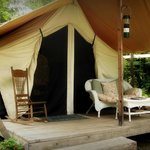 Huckleberry Tent and Breakfast North Idaho resmi