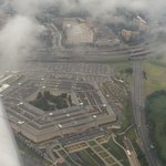 The Pentagon from the air.