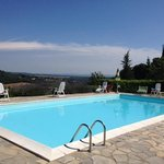 podere Monti pool view