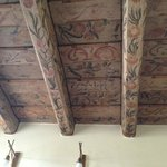 Old painted ceiling